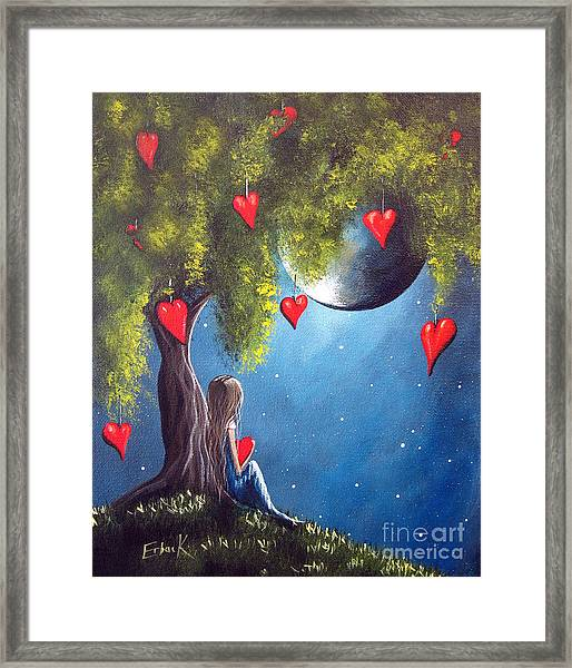 Under The Tree Of New Beginnings By Shawna Erback Framed Print by Erback Art