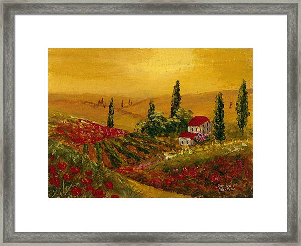 Under The Tuscan Sun Framed Print
