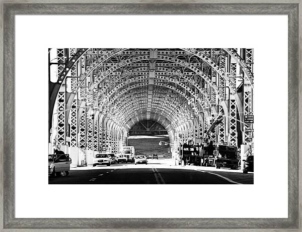 Under The West Side Highway Framed Print