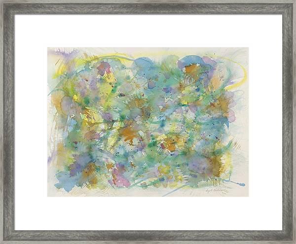 Under Water Heaven Framed Print