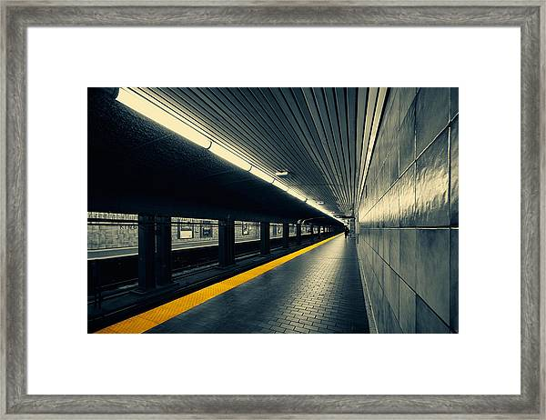 Understanding Lines And Colours Framed Print