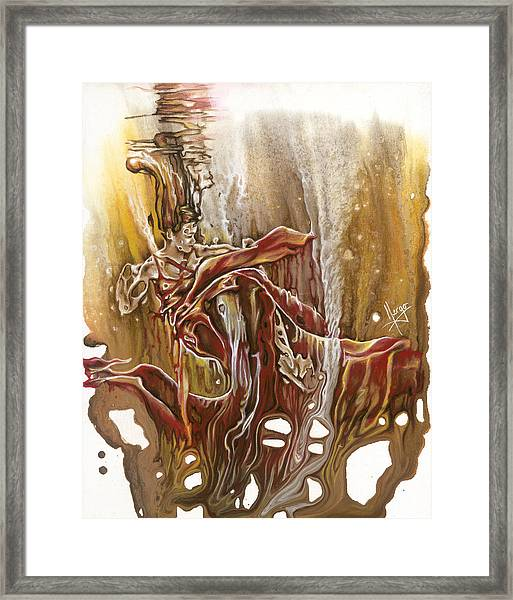 Undertake Framed Print