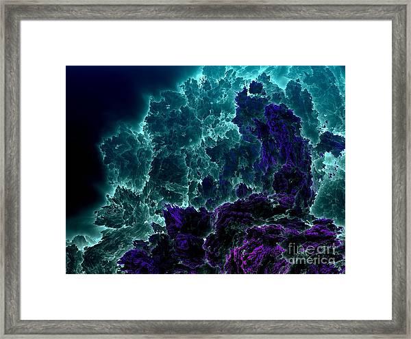 Underwater 7 Framed Print by Bernard MICHEL