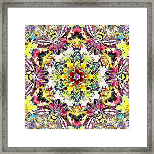 Unfolded Source Framed Print