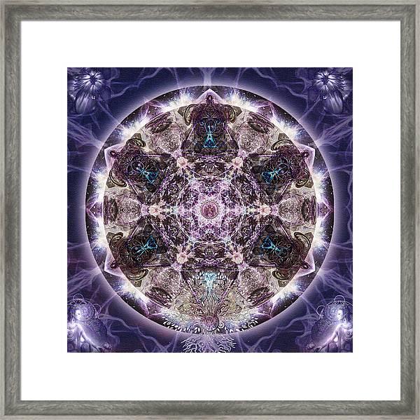 Unfoldment Framed Print