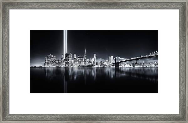 Unforgettable 9-11 Framed Print