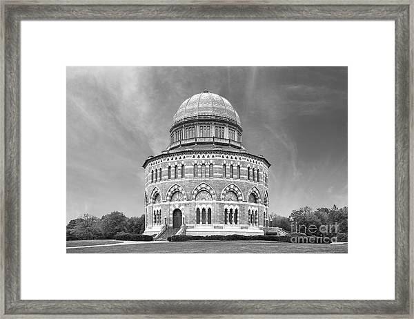 Union College Nott Memorial Framed Print