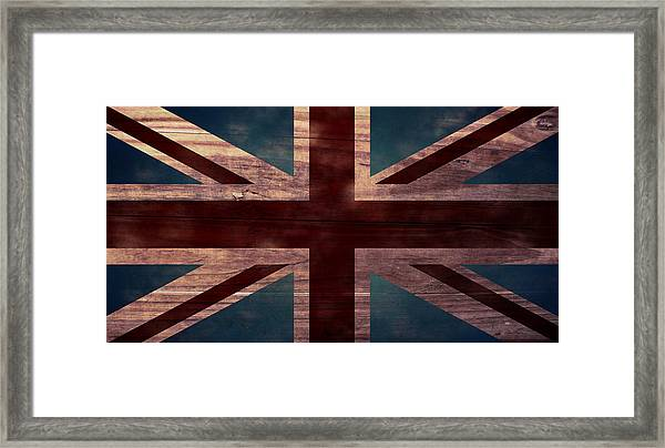 Union Jack I Framed Print