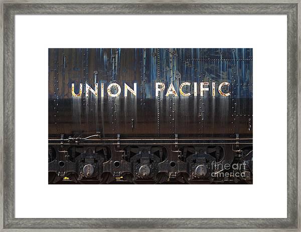 Union Pacific - Big Boy Tender Framed Print