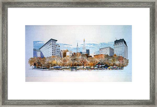 Union Square Nyc Framed Print