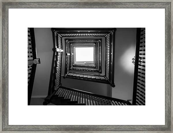 Union Station Hotel Stairway Framed Print