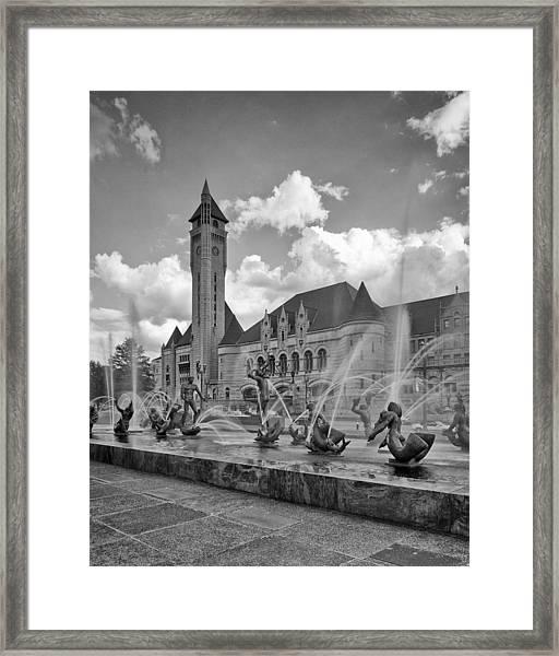 Union Station - St Louis Framed Print