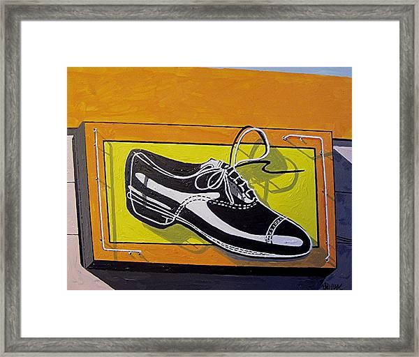 United Cobblers Framed Print by Paul Guyer