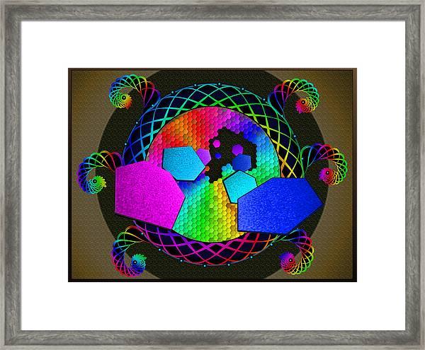 United Diversity Framed Print