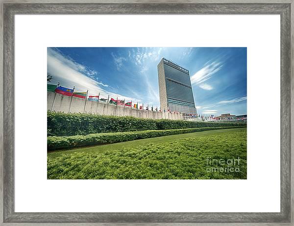 United Nations Framed Print