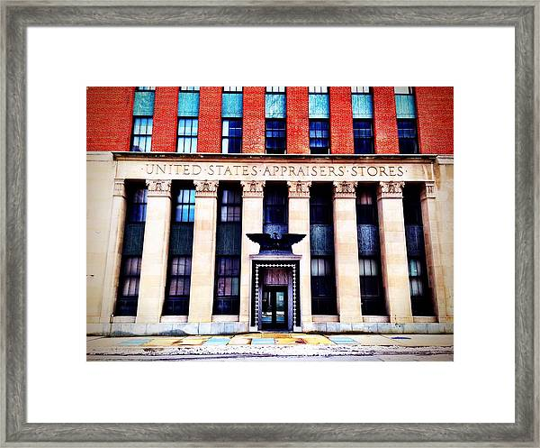 United States Appraisers' Stores Framed Print