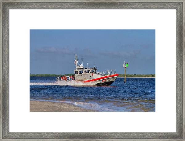 United States Coast Guard Framed Print