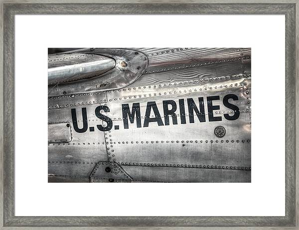 United States Marines - Beech C-45h Expeditor Framed Print
