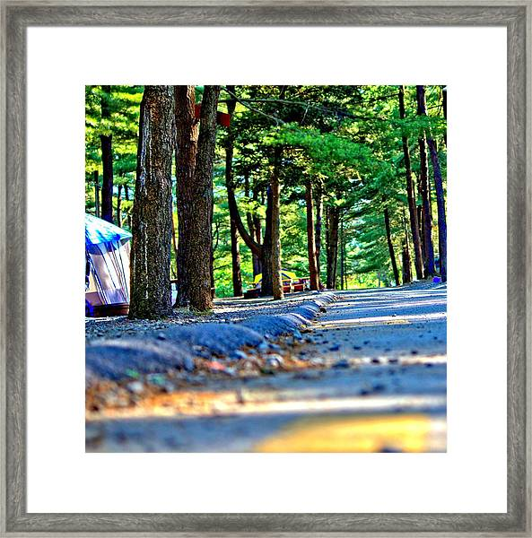 Unknown Destination Framed Print