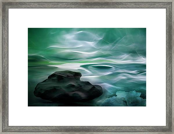 Unknown Waters Framed Print by Willy Marthinussen