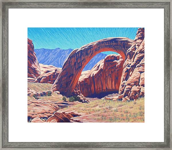 Unseen Artist Framed Print