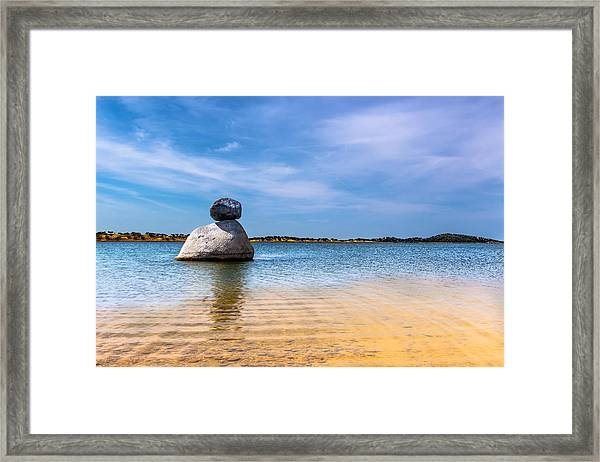 Unstable Equilibrium Framed Print
