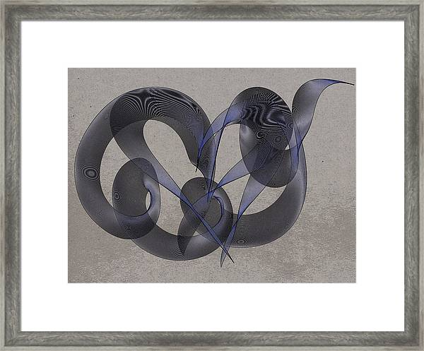 Untangled Hearts Framed Print