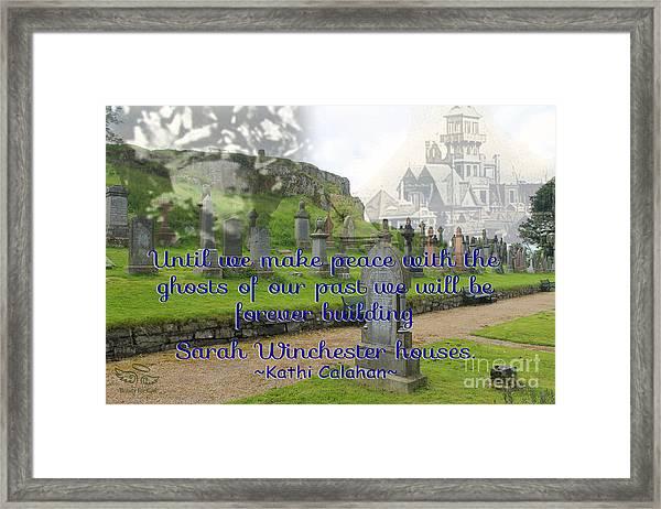 Until We Make Peace Framed Print