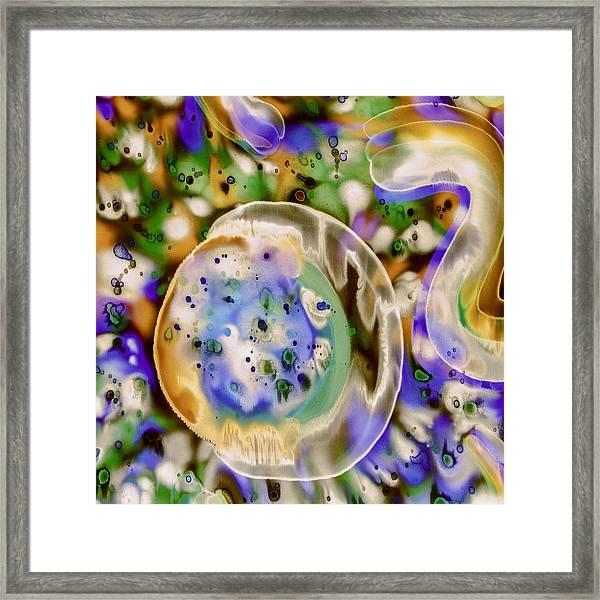 Vanilla Sky Framed Print