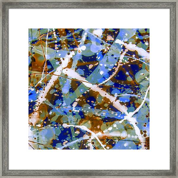 My Baby Blue Framed Print