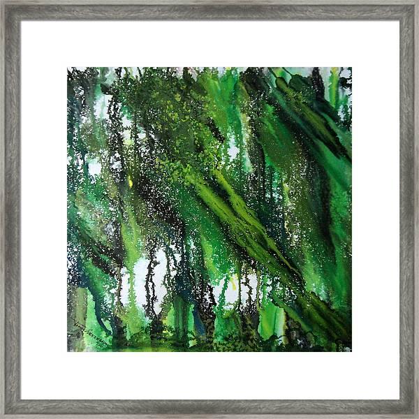 Forest Of Duars Framed Print