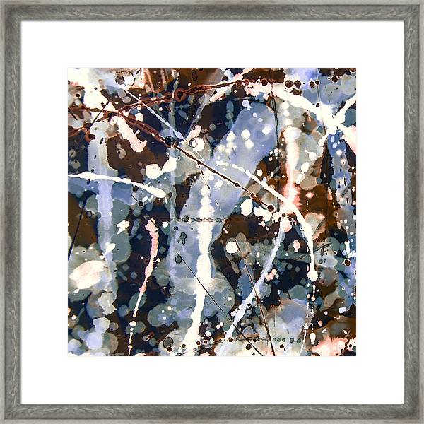 Smoke And Mirrors Framed Print