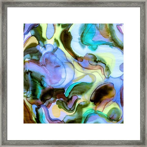 Touch Of Monet Framed Print