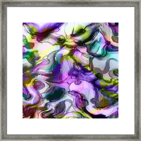 Imperfection Is Beauty Framed Print
