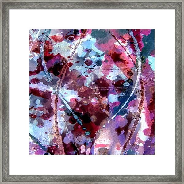 Velvet Crush Framed Print