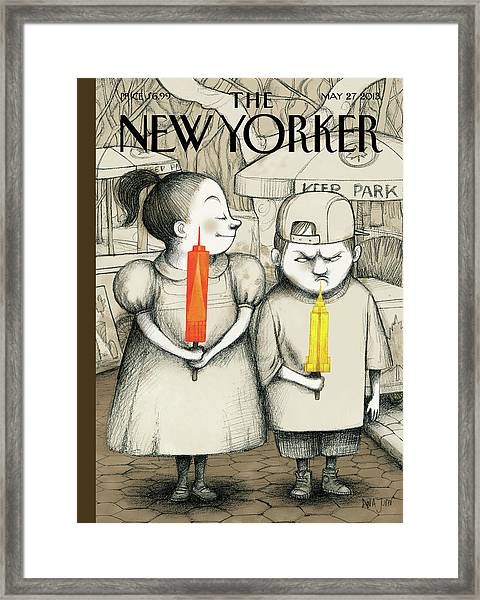 New Yorker May 27th, 2013 Framed Print