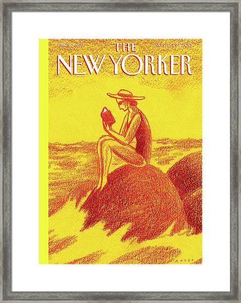 New Yorker August 12th, 2013 Framed Print