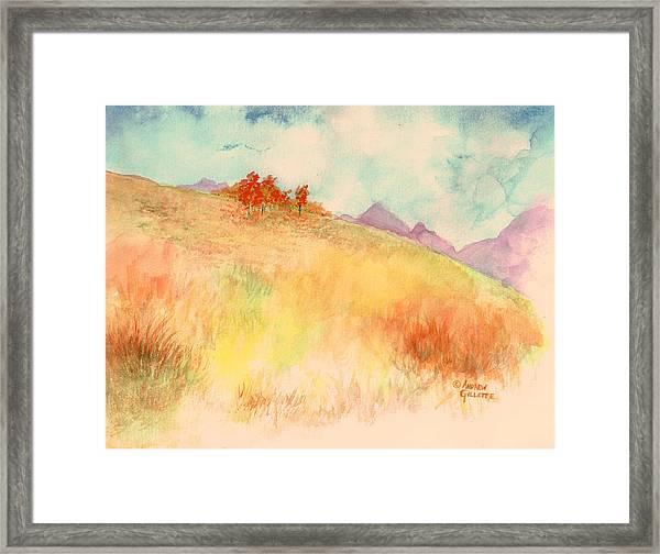 Untitled Autumn Piece Framed Print