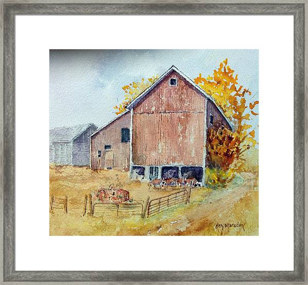Untitled Barn Framed Print