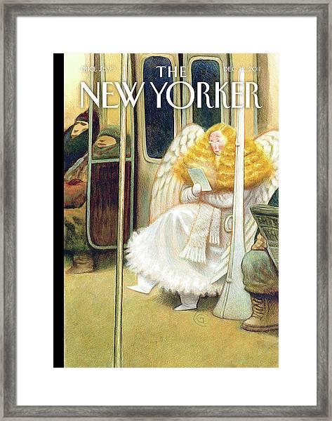 New Yorker December 12th, 2011 Framed Print
