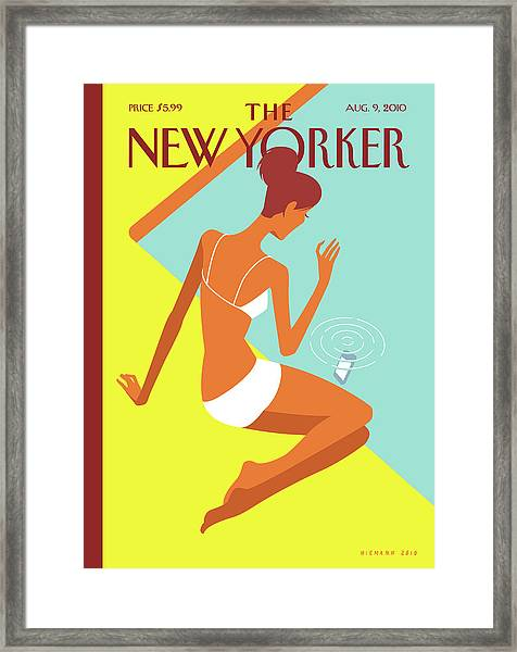 New Yorker August 9th, 2010 Framed Print