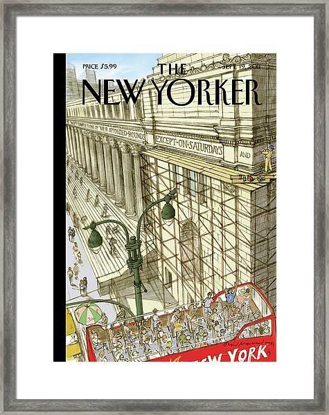 New Yorker September 19th, 2011 Framed Print