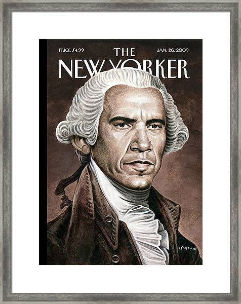 New Yorker January 26th, 2009 Framed Print