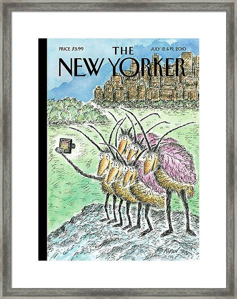 New Yorker July 12th, 2010 Framed Print