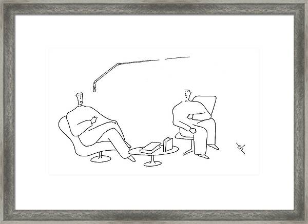 I Found Your Book  'canoeing The Small Puddles Framed Print