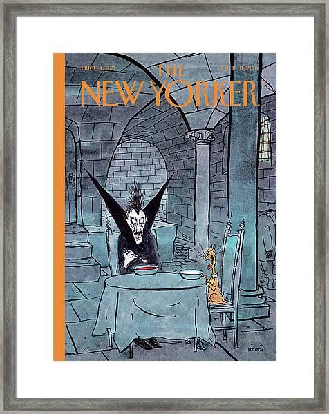 New Yorker October 31st, 2011 Framed Print