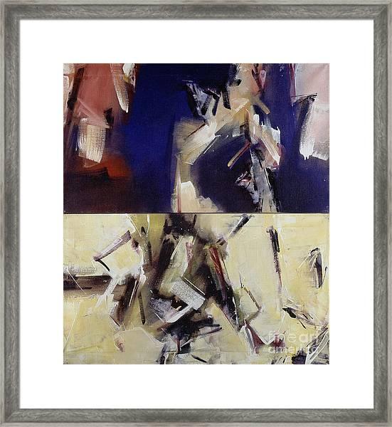 Untitled II '91 Framed Print