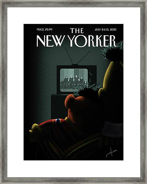 4f6ca86cd New Yorker July 8th, 2013 Framed Print