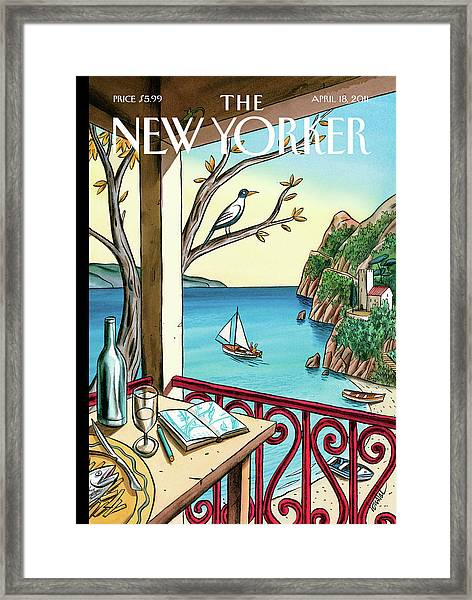 New Yorker April 18th, 2011 Framed Print