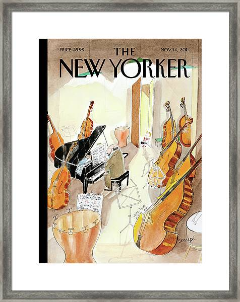 New Yorker November 14th, 2011 Framed Print